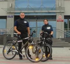 Patrole rowerowe w Krakowie z początkiem maja (video)