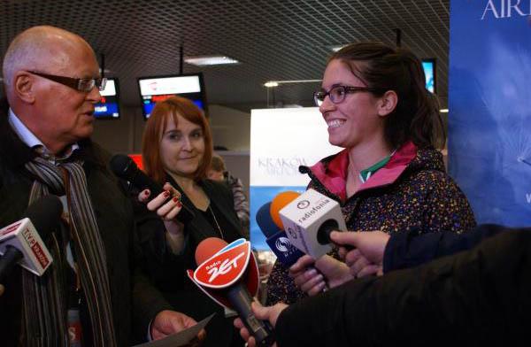 3 milionowy pasażer w Kraków Airport