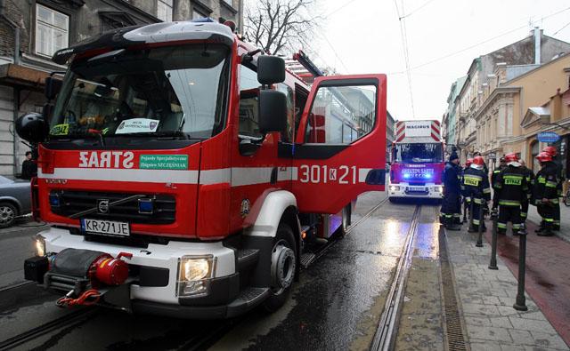 25 - latek zginął w pożarze mieszkania przy ulicy Dobrego Pasterza