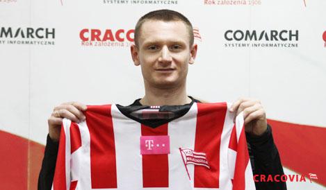 Sebastian Szałachowski oficjalnie zawodnikiem Cracovii