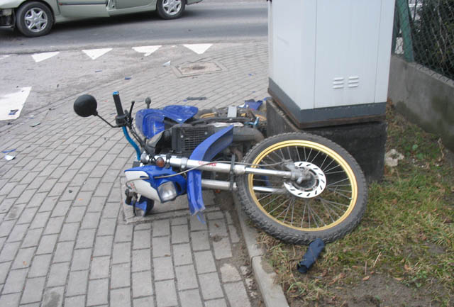 Wypadek na skrzyżowaniu w Dąbrowie Tarnowskiej