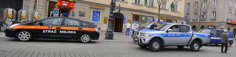 Wspólne działania Straży Miejskiej i Komendy Miejskiej Policji