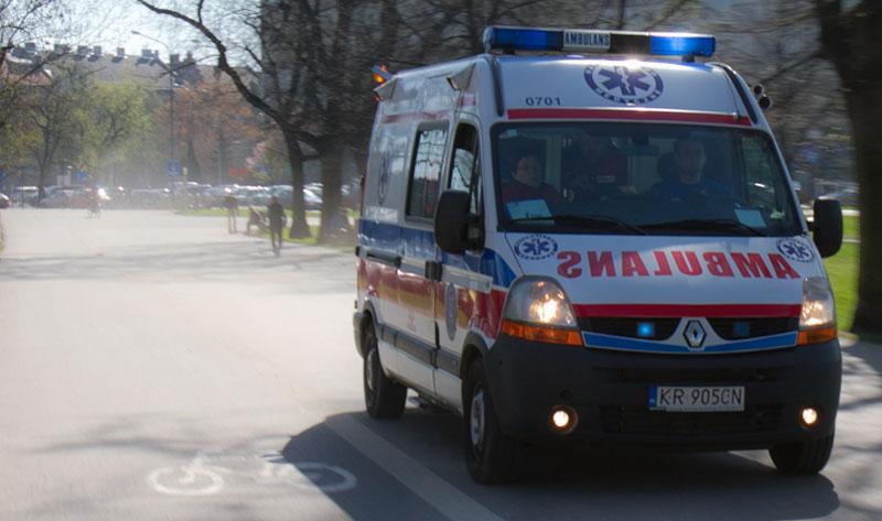 Tragedia w podkrakowskich Zielonkach: 1,5 roczne dziecko wypiło płyn do zmywarki.