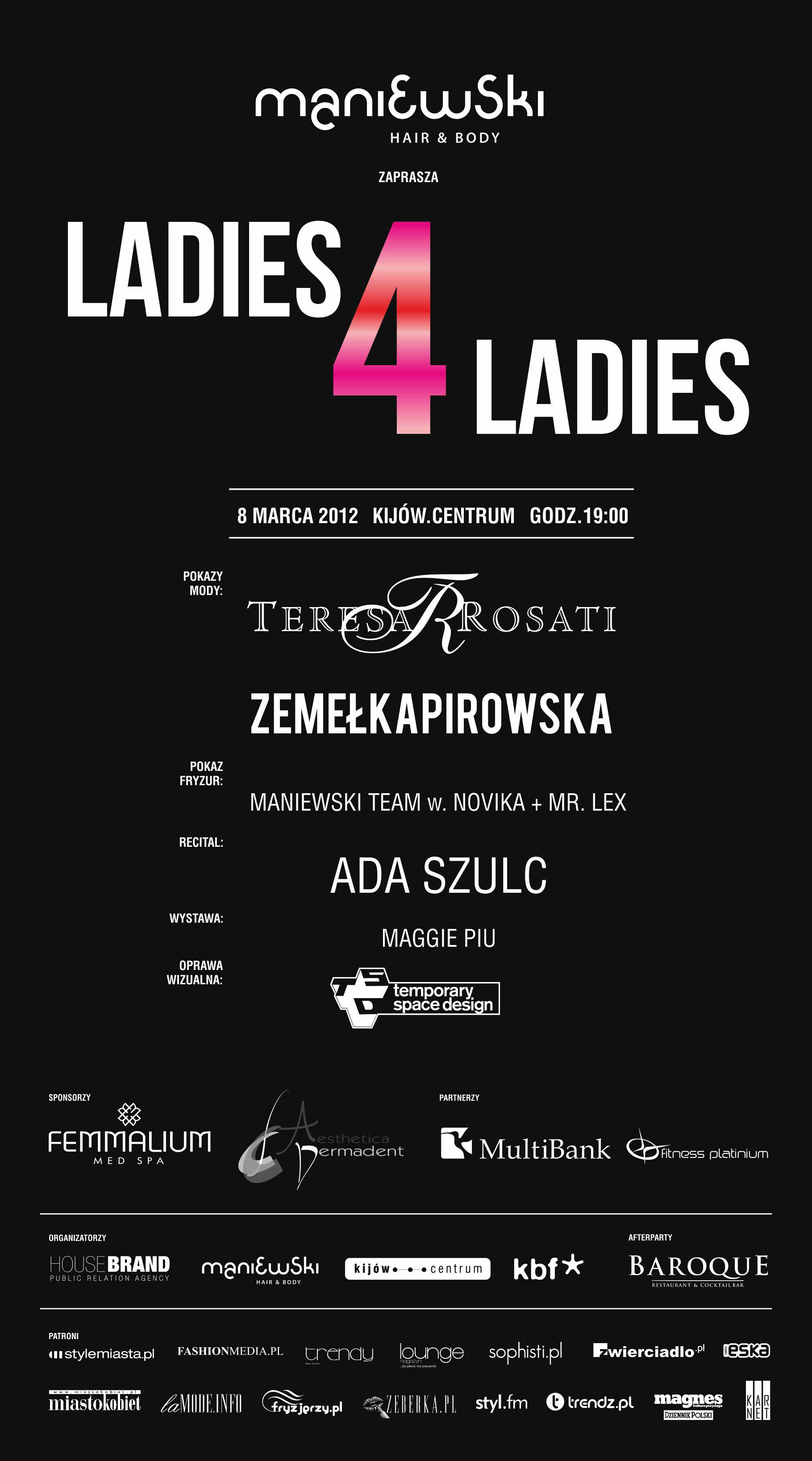 Ladies 4 Ladies ? kobiecy wieczór w kinie Kijów.Centrum