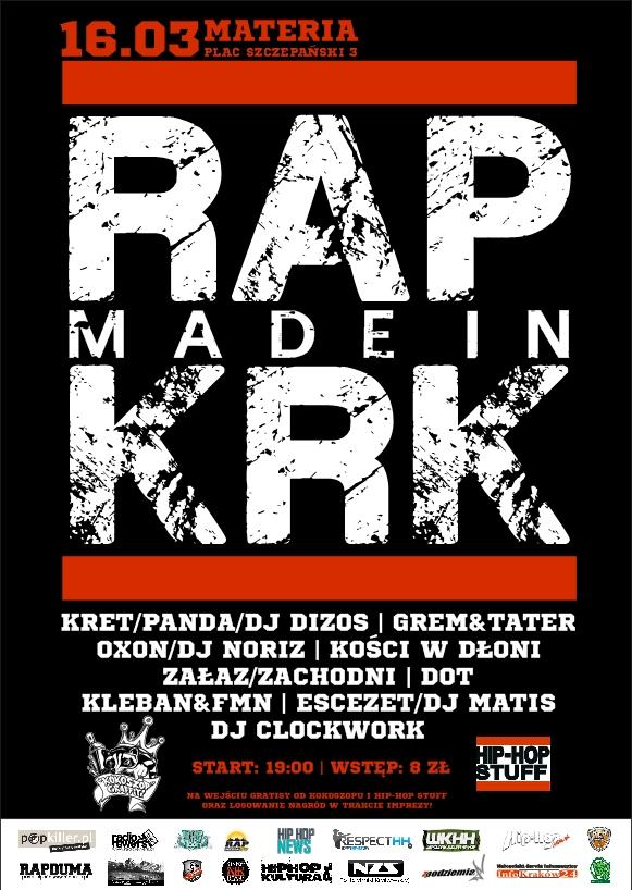 Rap Made In KRK uderza po raz szósty!