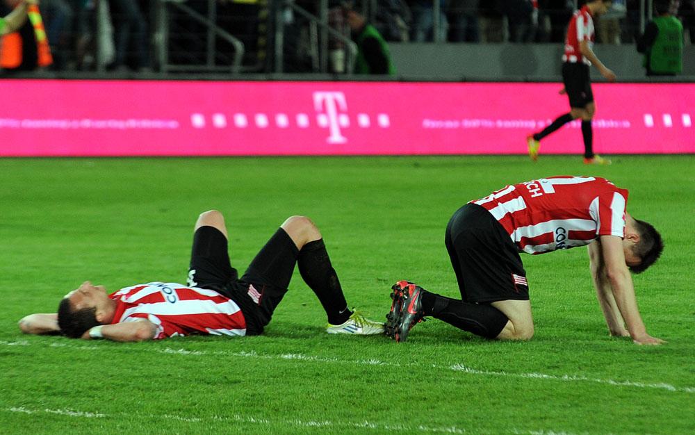 Cracovia powoli wita się z pierwszą ligą (zobacz zdjęcia)