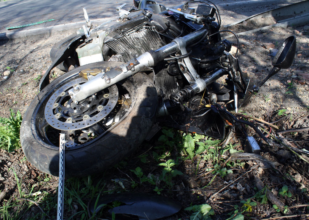 Grojec - kolejny motocyklista poniósł śmierć w wypadku drogowym