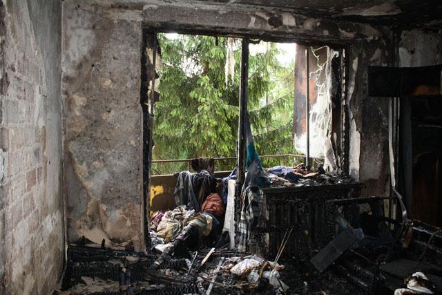 Oświęcim ? w mieszkaniu, które spłonęło ujawniono zwłoki mężczyzny