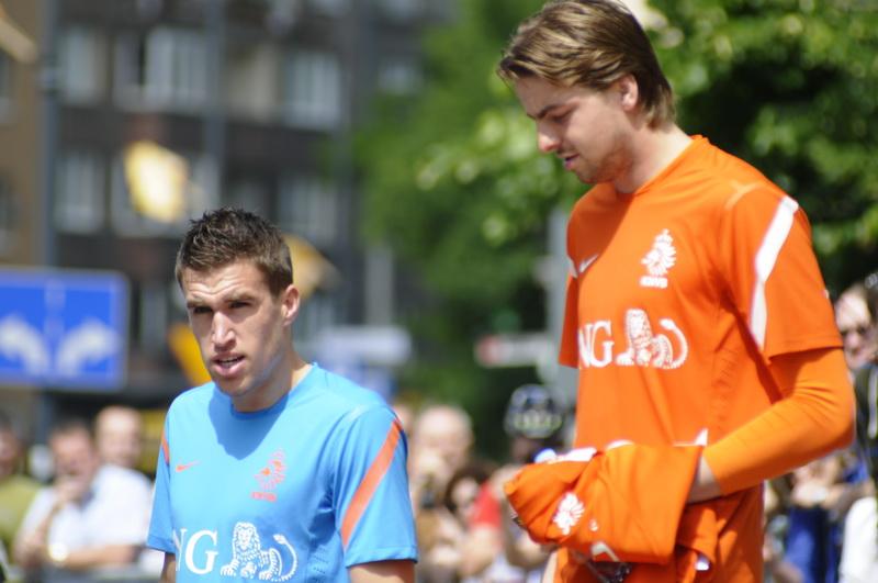 Euro 2012: Holendrzy nie odpoczywają - wyjazd na trening [ zobacz zdjęcia ]