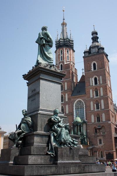 Adam Mickiewicz też będzie kibicował Biało - Czerwonym
