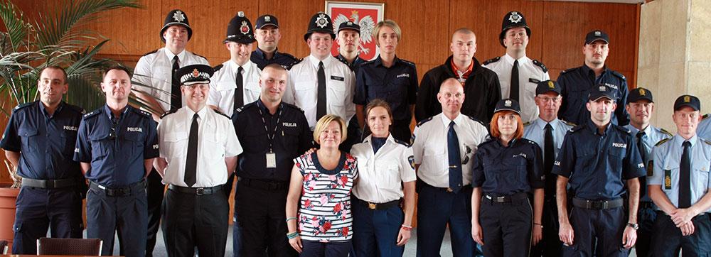 Euro 2012: Spottersi z anglii holandii i danii wspierają małopolskich policjantów