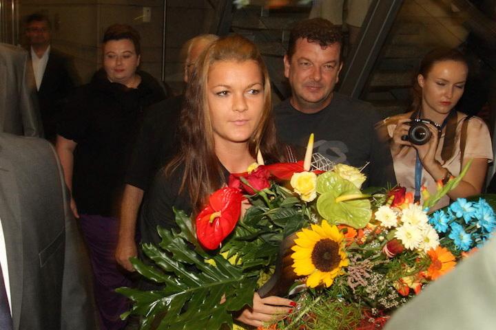 Agnieszka Radwańska już w Krakowie [ zdjęcia ]