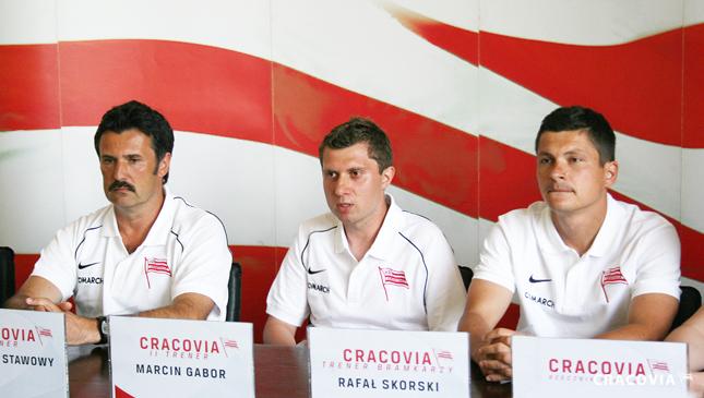 Oficjalna prezentacja sztabu szkoleniowego Cracovii
