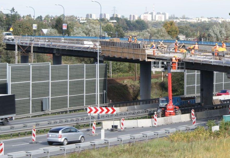 Zmiany organizacji ruchu na autostradzie A4 na wysokości Węzła Opatkowice