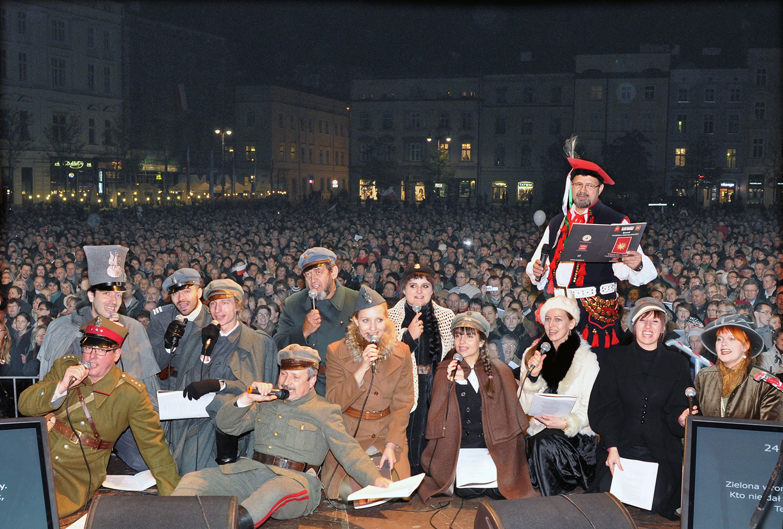 Krakowska lekcja śpiewania w Opolu