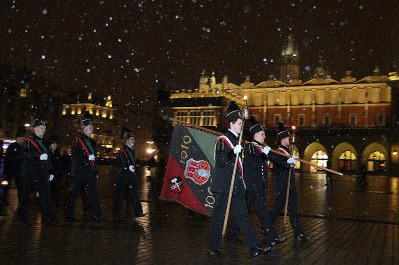 Święto wszystkich Górników obchody w Krakowie [ zdjęcia ]