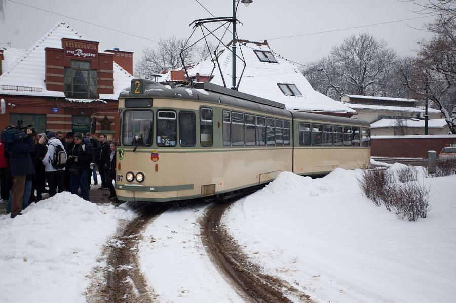 Kraków pożegnał tramwaje z Norymbergi