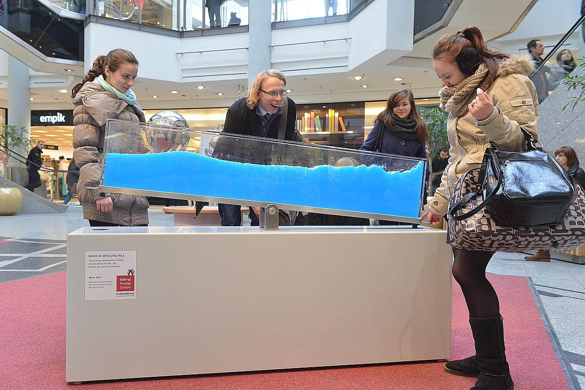 Interaktywna wystawa: Naukowe