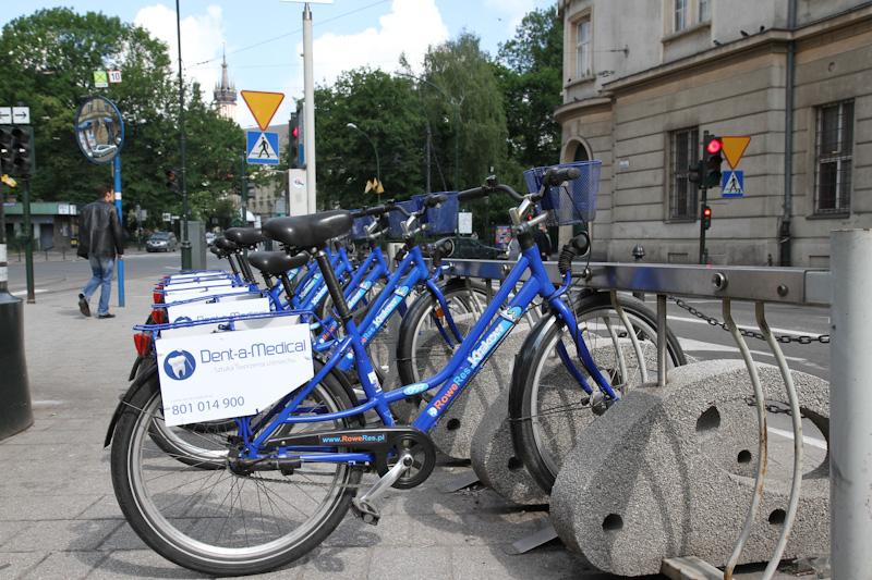 Będzie więcej stacji rowerowych