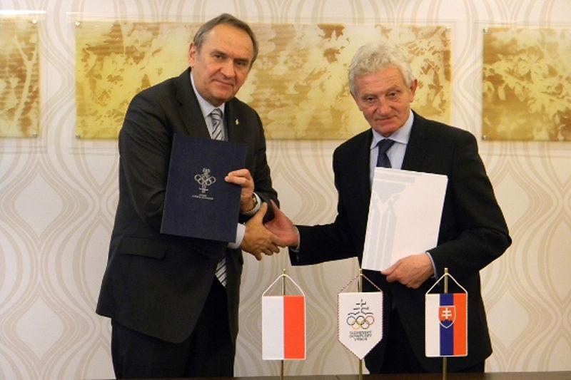 Polska i Słowacja razem dla olimpiady