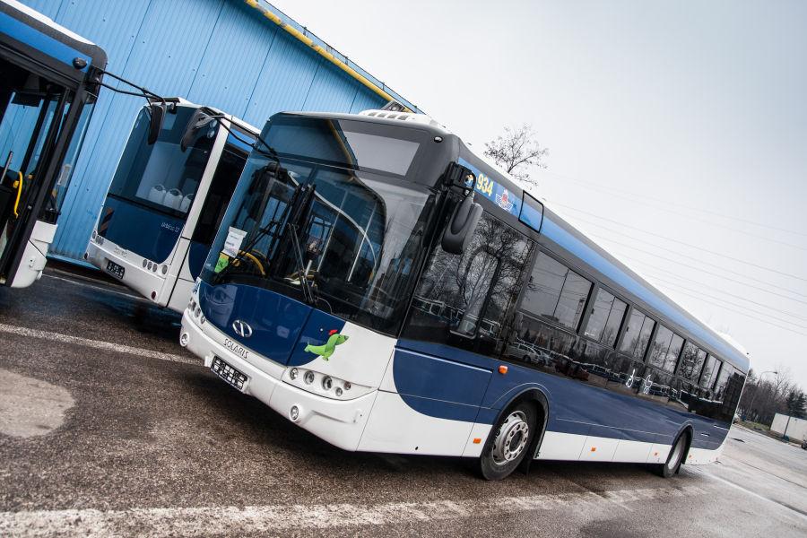 Nowe autobusy Solarisa w Krakowie