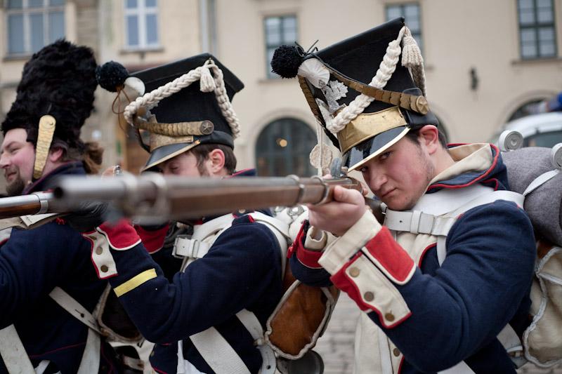 200 lecie wymarszu z Krakowa wojsk Księstwa Warszawskiego na kampanię Saską [ fotorelacja ]