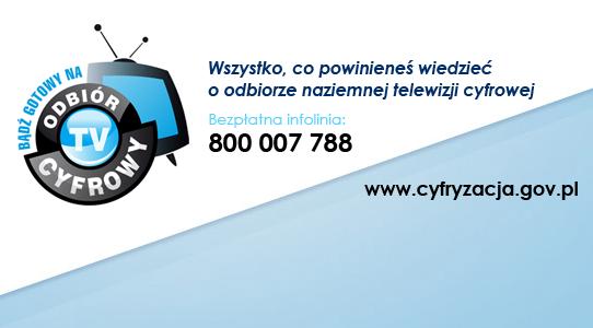 CYFRYZACJA: Już 22 kwietnia w kolejnych gminach małopolski wyłączony zostanie sygnał analogowy