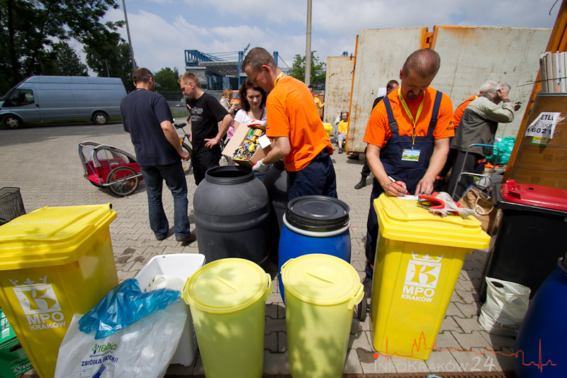 Festiwal Recyklingu: krakowianie pozbywają się odpadów [ zdjęcia ]