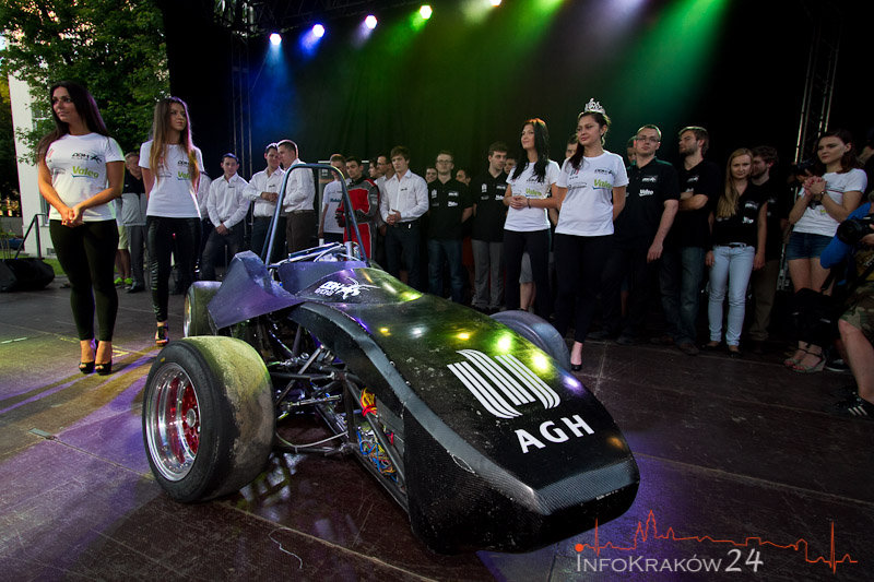 Wyścigowy bolid studentów AGH [ zdjęcia ]
