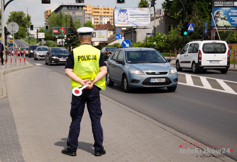 Ponad 1400 kierujących bez zapiętych pasów bezpieczeństwa
