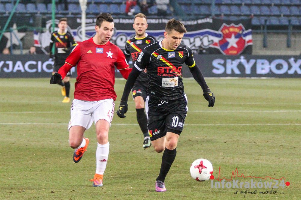 Wisła Kraków pokonała 3:1 (2:0) wicelidera tabeli - Jagiellonię Białystok [zdjęcia]