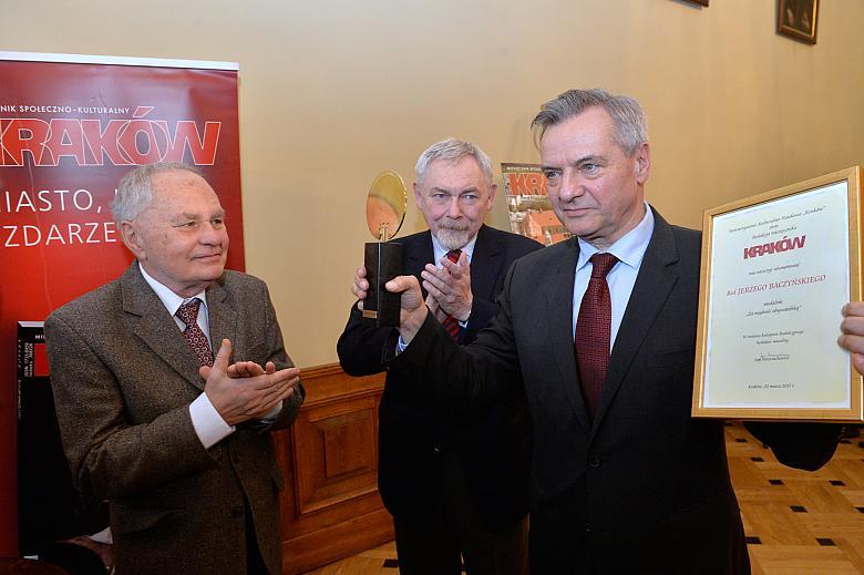 Jerzy Baczyński laureatem medalu ?Za Mądrość Obywatelską?