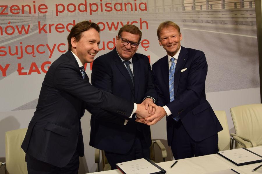 Trasa Łagiewnicka z finansowaniem EBI i BGK