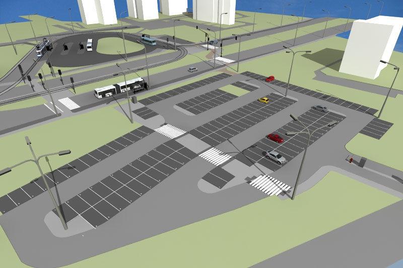 Coraz bliżej do budowy parkingu P+R ?Mały Płaszów?