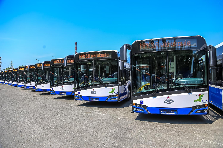Kraków ma 77 nowych ekologicznych autobusów
