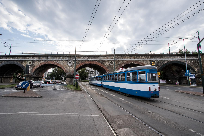 Weekend bez tramwajów na ulicy Grzegórzeckiej