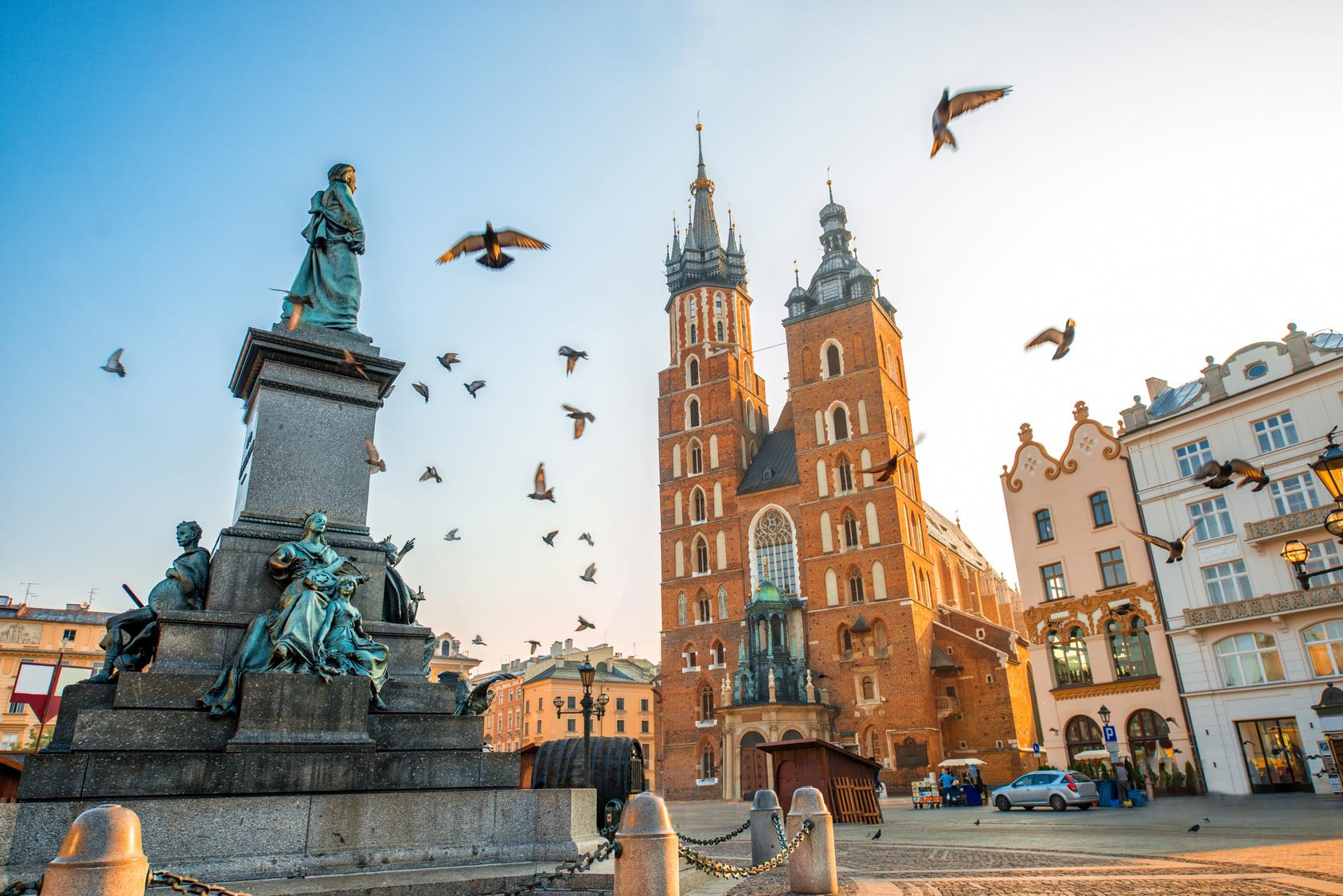 Autobusowe podróże z Krakowa
