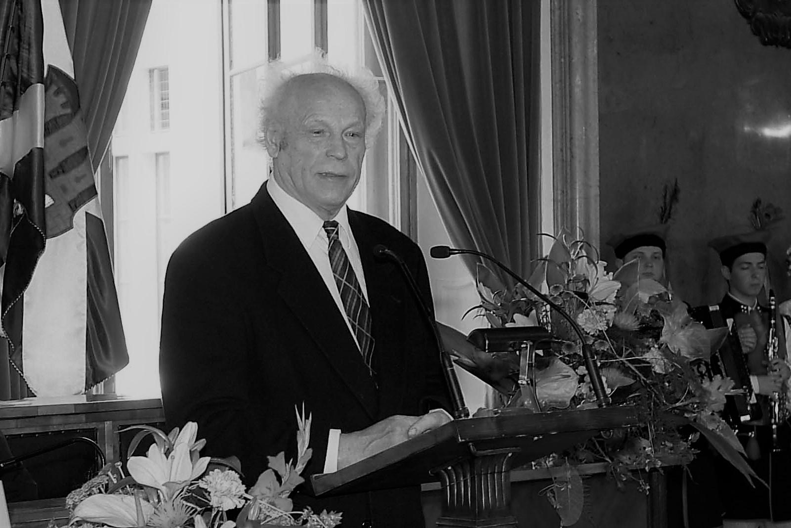 Nie żyje prof. Bronisław Chromy. Miał 92 lata