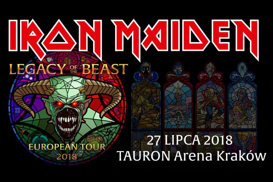 Iron Maiden zagra w TAURON Arenie Kraków