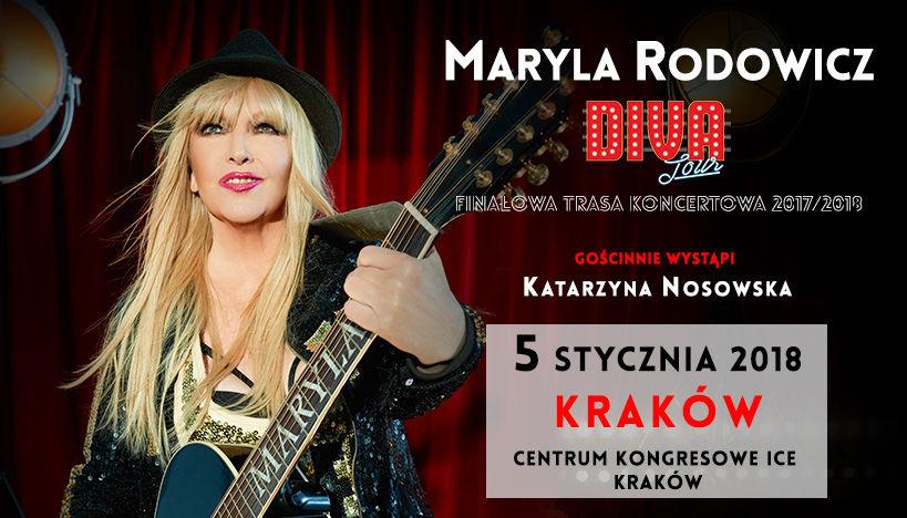 Maryla Rodowicz świętuje jubileusz w Krakowie