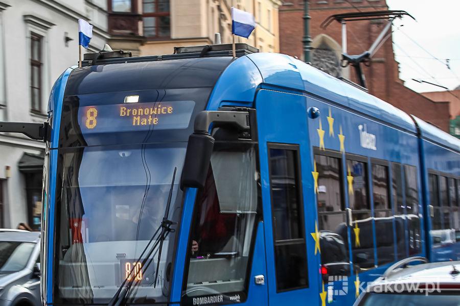 Sobota bez tramwajów do Bronowic Małych
