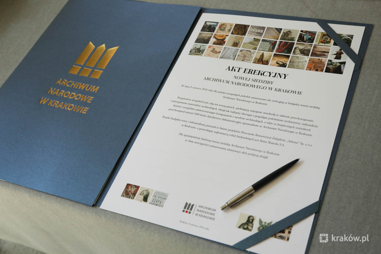 W Krakowie powstaje największe w Polsce Archiwum Narodowe
