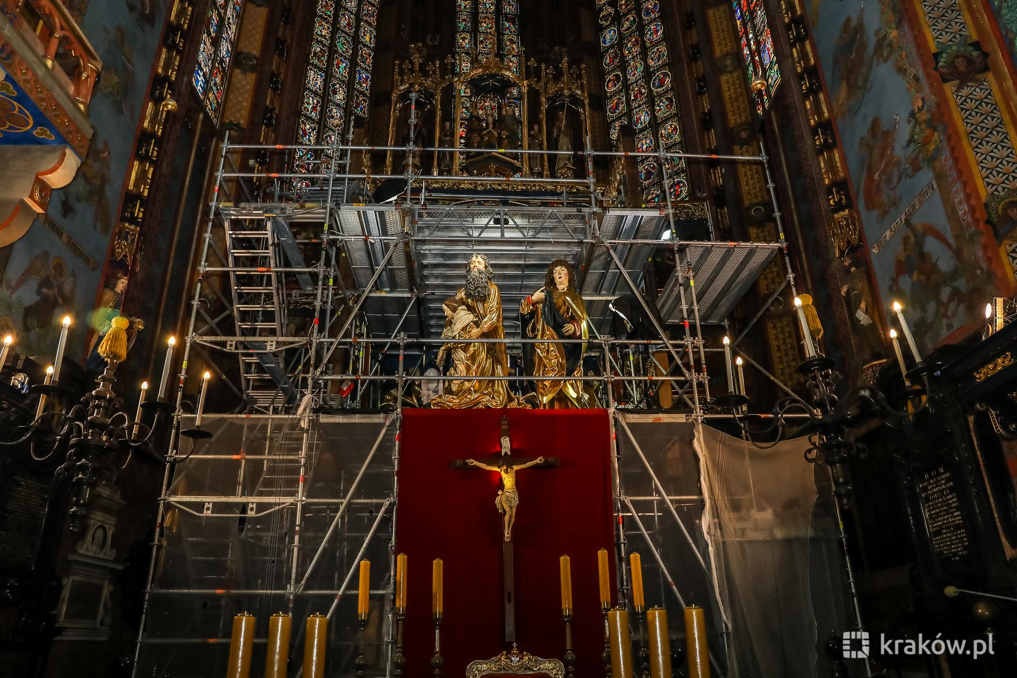 Już niedługo zobaczymy ołtarz Wita Stwosza po konserwacji