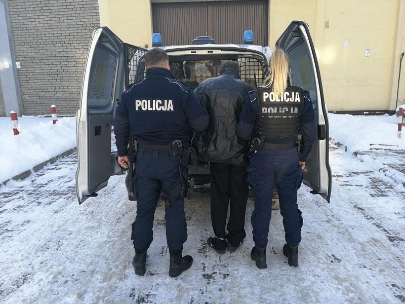 Policjanci z Niepołomic zatrzymali zabójcę z Krośniewic