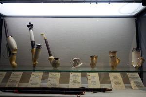 Fajki w muzeum
